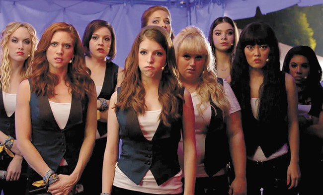 Films like Pitch Perfect 2 feature strong female characters while others, including Scouts Guide to the Zombie Apocalypse, use women as merely decorative objects.