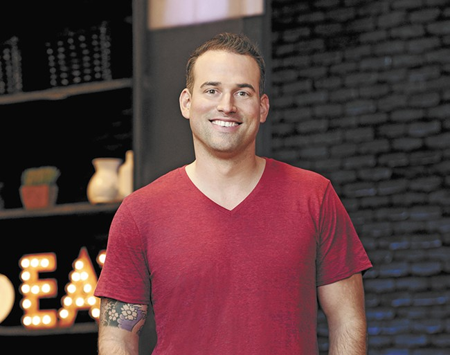 Aaron Crumbaugh has a chance at reality TV glory.