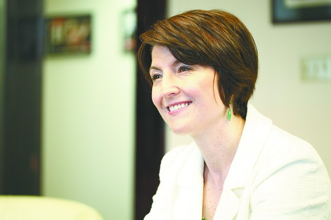 Cathy McMorris Rodgers endorsed Donald Trump, albeit reluctantly and on Facebook.