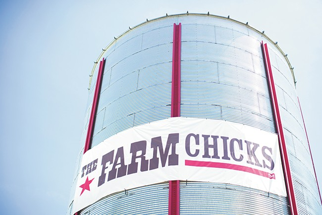 The Farm Chicks show now fills all available exhibit hall space — 90,000 square feet — at the Spokane fairgrounds. - PHOTO COURTESY OF SERENA THOMPSON