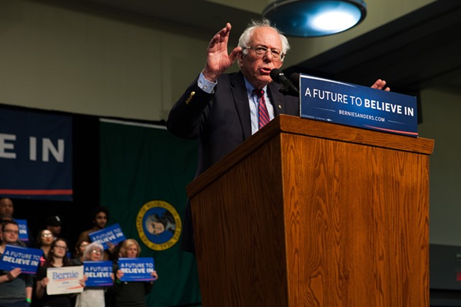 Is Bernie Sanders the Golden State Warriors of politicians?