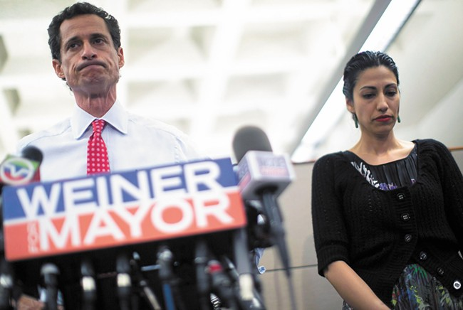 Anthony Weiner's political career went down in spectacular flames, and this documentary doesn't hide the fire.