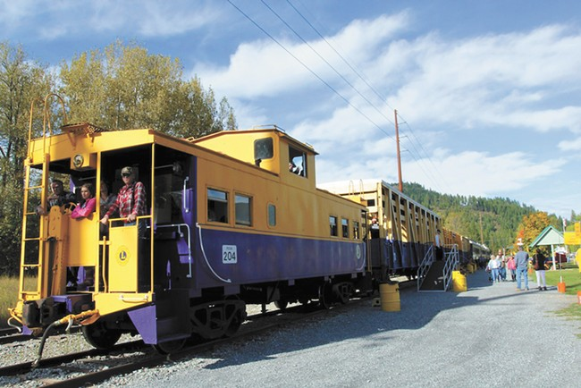 Hop a ride on the Lions Club train before it stops for good.
