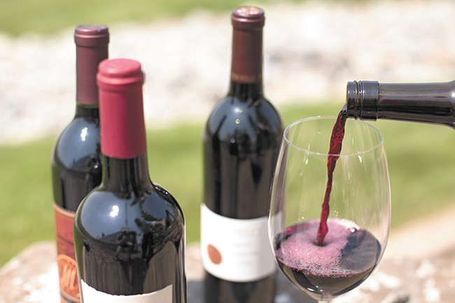 Sample the region's wineries at Vintage Spokane on July 24. - YOUNG KWAK