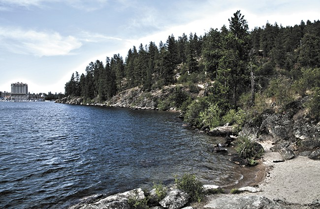 Despite the region's polluted history, Lake Coeur d'Alene is a major tourist draw.