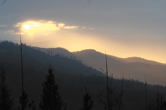The view from Highway 20 looking into the valley toward Republic. - MIKE SALSBURY