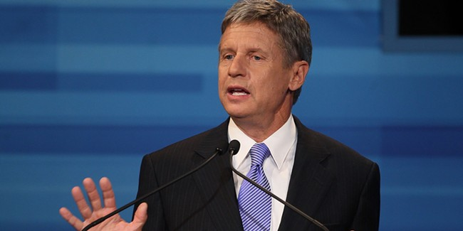 Can Libertarian candidate Gary Johnson benefit from the #NeverTrumps?
