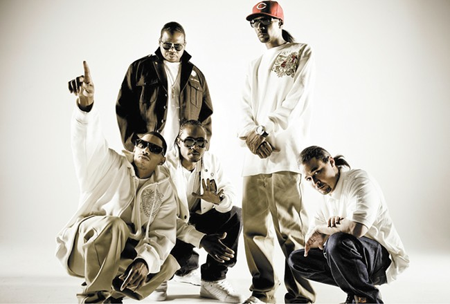 The guys from Bone Thugs-n-Harmony are here to remind you that Cleveland rocks.