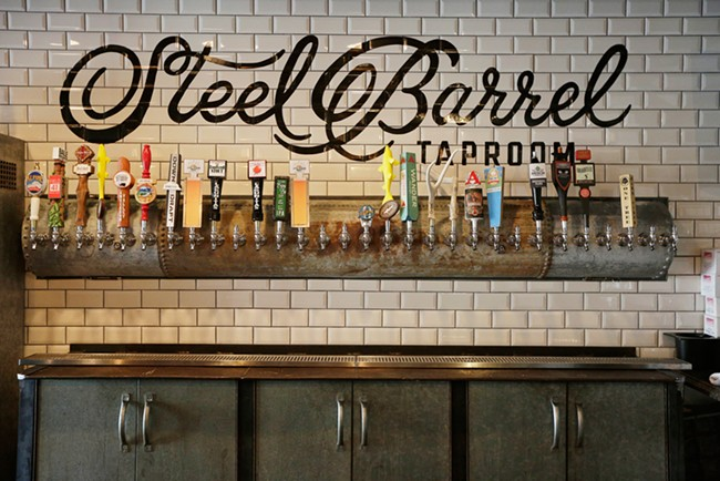 The Steel Barrel tasting room is open on Madison in downtown Spokane.