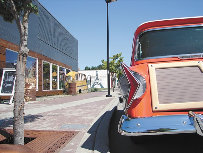 Midtown is home to a proliferation of local vintage and thrift shops. - CARRIE SCOZZARO