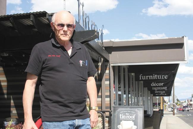 Tin Roof owner Jim Hanley. - WILSON CRISCIONE