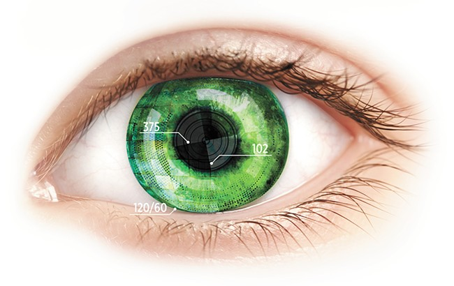 A new version of smart contact lenses can even measure your insulin levels. - ALISSIA BLACKWOOD MEAD PHOTO ILLUSTRATION