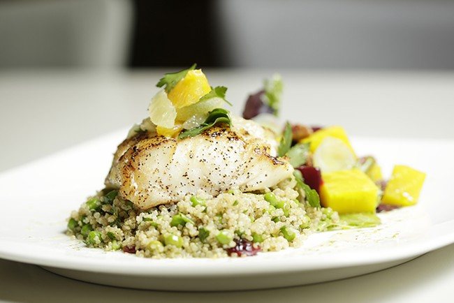 McCampbell's Grilled Halibut - YOUNG KWAK