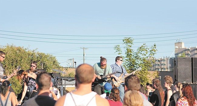 Local rockers Elephant Gun Riot took on last year's All Age Rage. This time around the festival becomes Rage-Apalooza.
