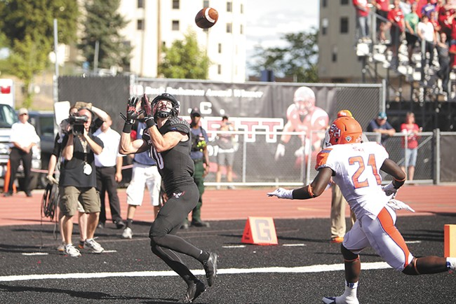 Cooper Kupp has averaged 122 yards per game receiving during his EWU career.