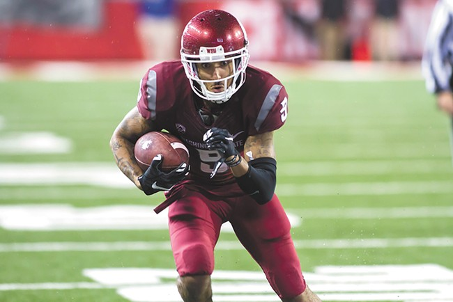 Gabe Marks will look to hook up with Luke Falk for numbers that could easily lead the nation this season.