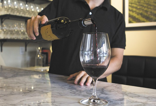 Sample Va Piano's Columbia Collection wines at its new downtown tasting room. - EMMA ROGERS