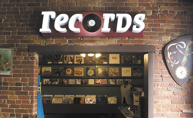 Garageland is Spokane's newest vinyl dealer. - EMMA ROGERS