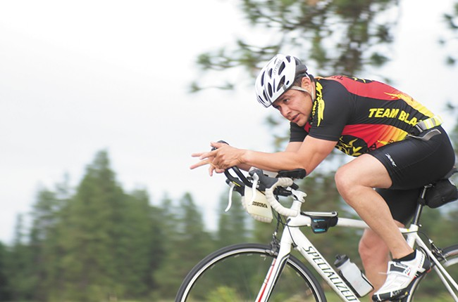 Team Blaze is the region's largest triathlon club.