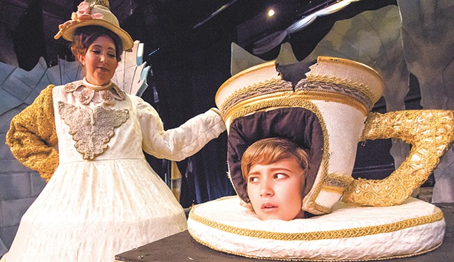 The costumes for the Civic's Beauty and the Beast shine throughout the production. - JEFF FERGUSON