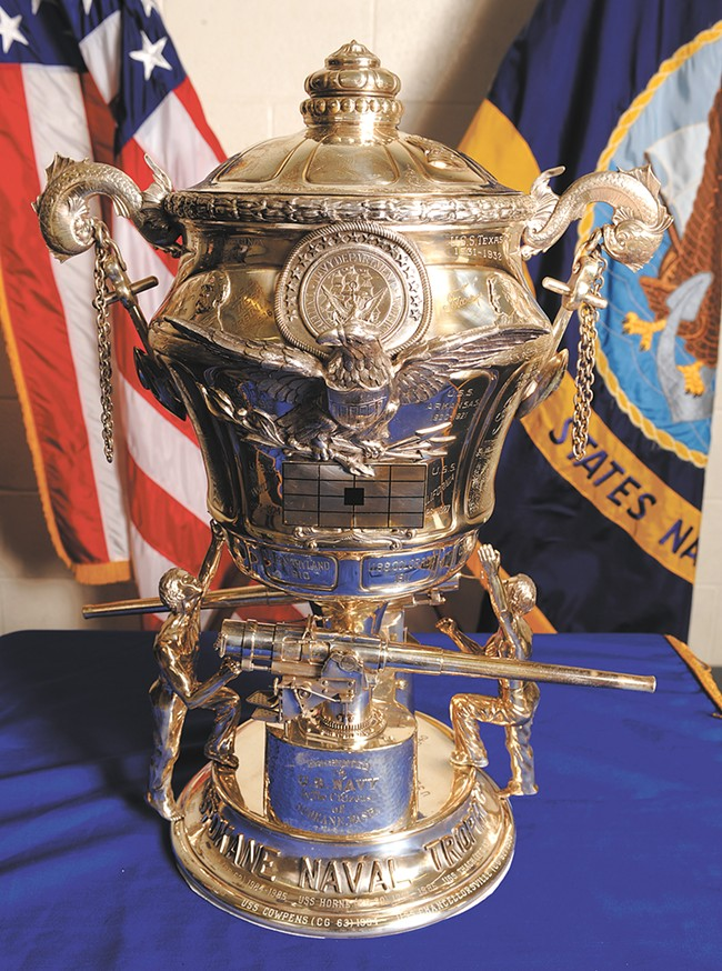 The Spokane Naval Trophy - JERRY ROLWES