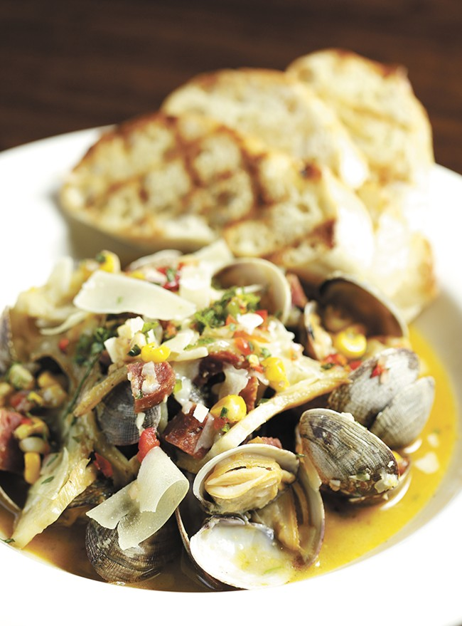The Steamed Clams from 
