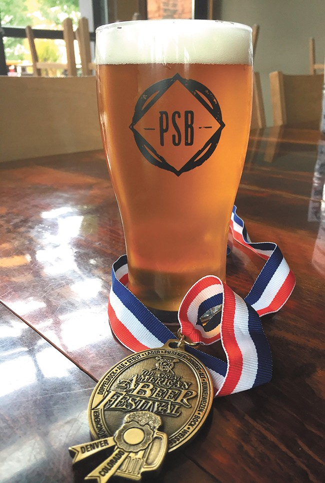 Perry Street's GABF gold medal