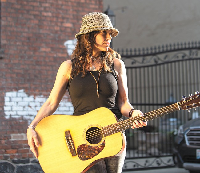 Local singer-songwriter Karrie O'Neill is going all-in with her music career.