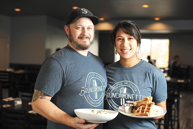 Allen Skelton and Joile Forral opened Bruncheonette after years running the Couple of Chefs food truck. - YOUNG KWAK
