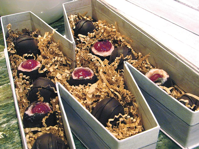Mudge Chocolates uses local, sustainable ingredients in its sweets. - CARRIE SCOZZARO PHOTO