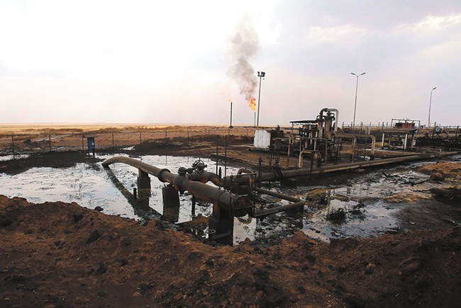 The Syrian war grew out of a conflict over oil and gas.