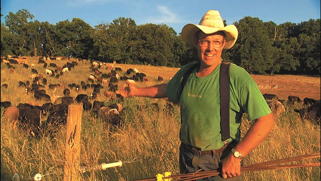 Joel Salatin has been called the world's most famous farmer.