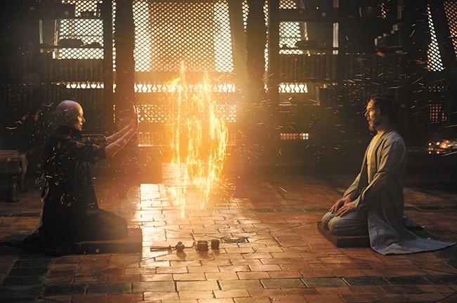 Benedict Cumberbatch gets magical in Doctor Strange.