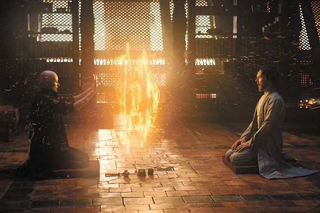 Benedict Cumberbatch gets magical in Doctor Strange.