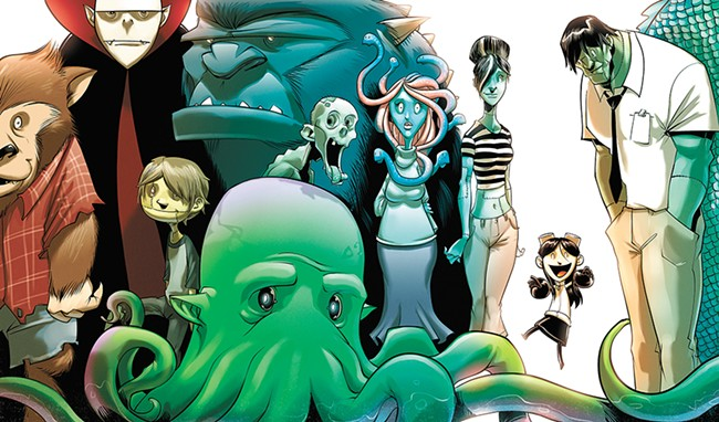 Art from the cover of Trembley's first book in the Victoria Jr. series.