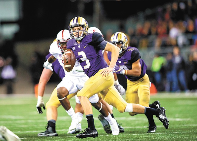 Jake Browning - SCOTT EKLUND/RED BOX PHOTO