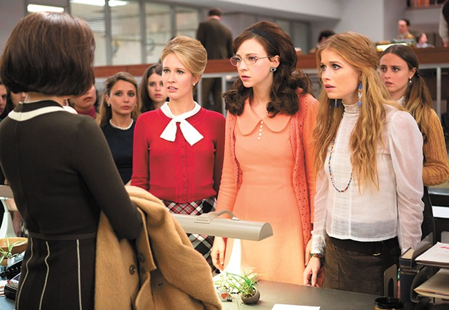 Good Girls Revolt tells the story of women working at Newsweek magazine in 1970.