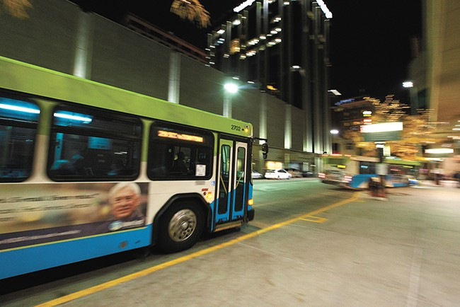 STA's bus advertisement restrictions have run into objections from two local unions. - YOUNG KWAK