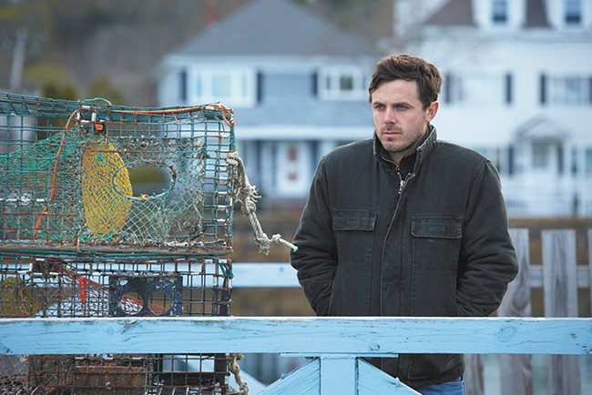 Casey Affleck delivers an Oscar-worthy performance in Manchester by the Sea.