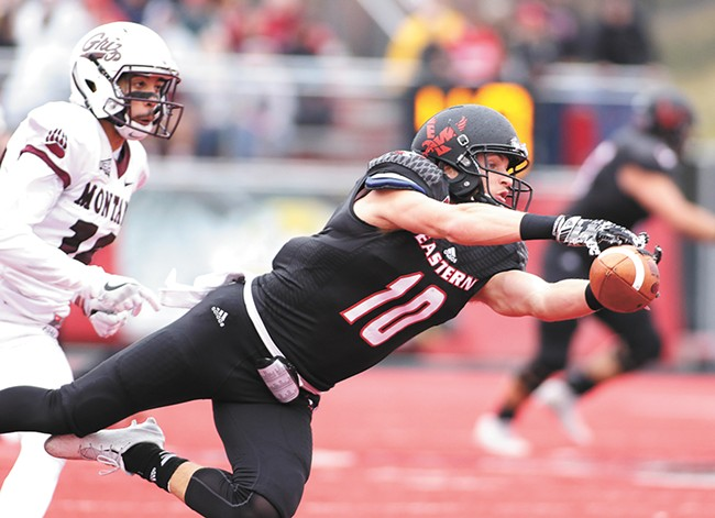 Cooper Kupp's historic career ended in Cheney on Saturday. - YOUNG KWAK