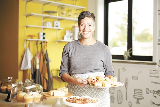 Batch Bakeshop owner Mika Maloney - YOUNG KWAK