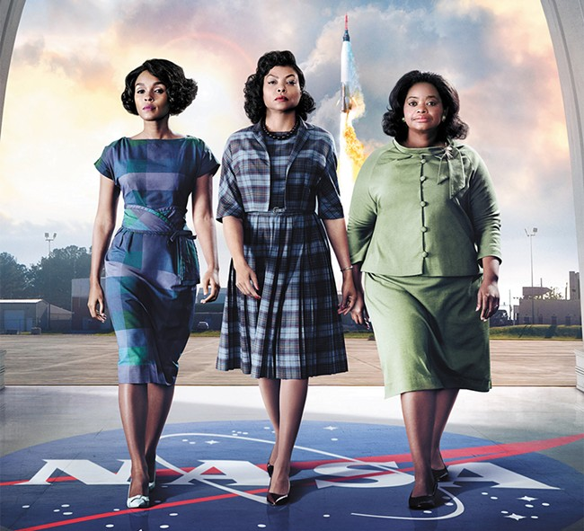 The women featured in Hidden Figures display all the right stuff.