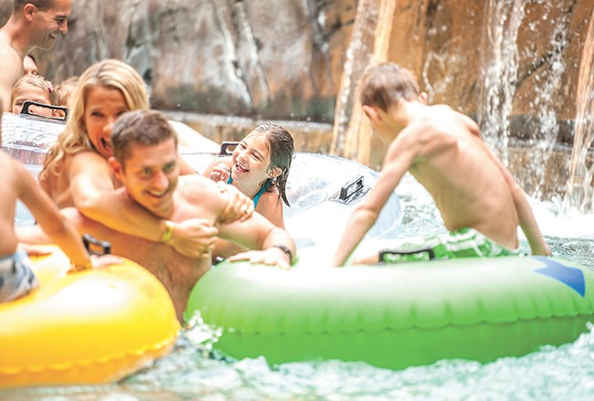 Silver's indoor lazy river doesn't have to be lazy. - MATT VIELLE