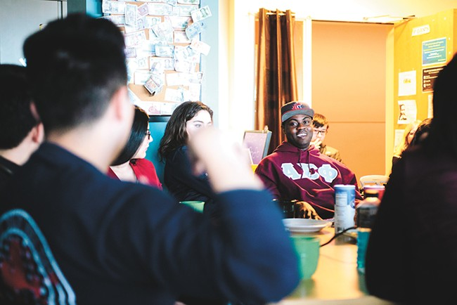 Washington State University wants to welcome more international students like Samuel Oppong, who is from Tema, Ghana. - EJ DEOCAMPO PHOTO