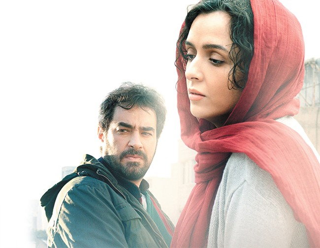 A marriage under duress in The Salesman.