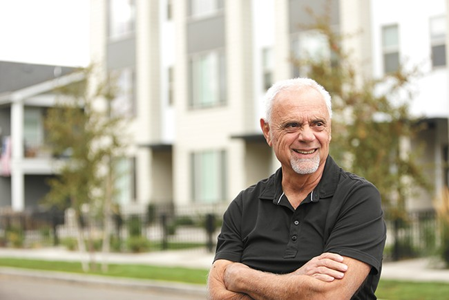 Greenstone Homes founder Jim Frank - YOUNG KWAK