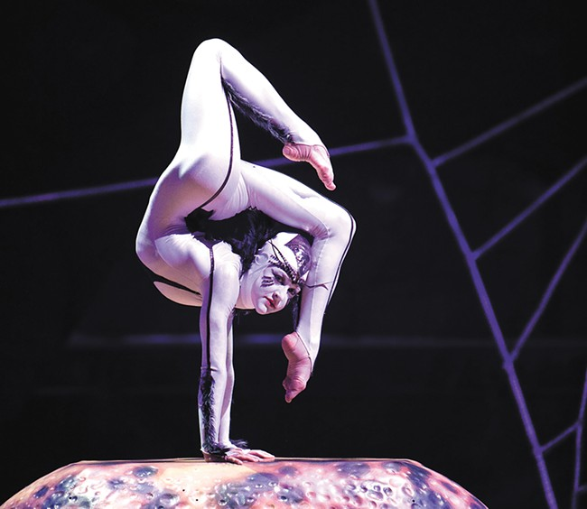 """Safety is our No. 1 priority,"" says a Cirque production manager. - CIRQUE DU SOLEIL PHOTO"