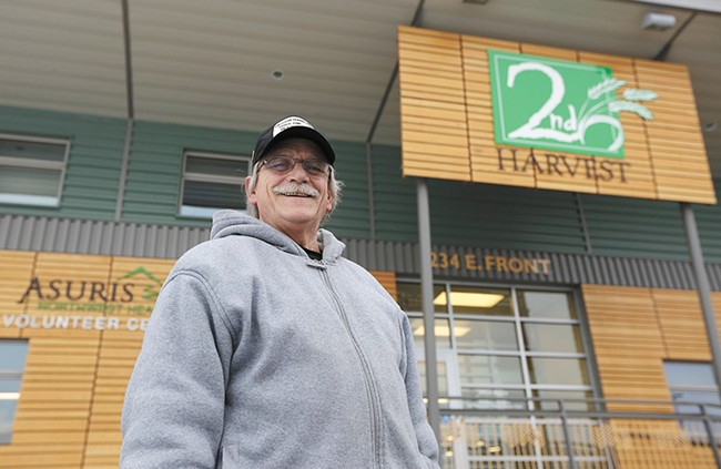 When he was unable to work, Edwin Swain leaned on Second Harvest for help.