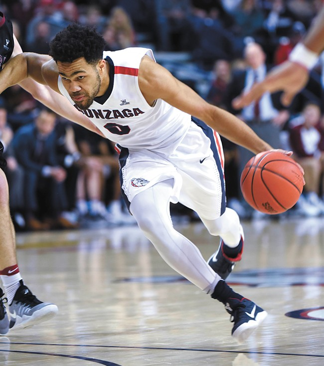 Silas Melson is a key player in the Gonzaga backcourt. - RAJAH BOSE