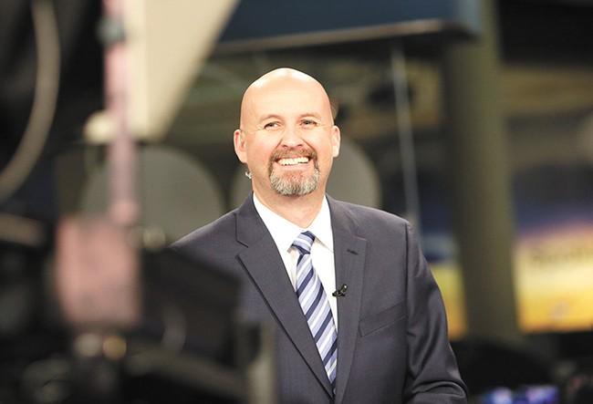 """It's a crazy, fanatical sports market,"" Adams says of Spokane. - YOUNG KWAK"